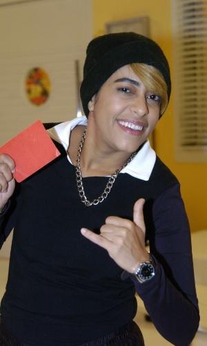 """Samantha Schmutz viveu Juninho Play no """"Zorra Total"""" de 2007"""