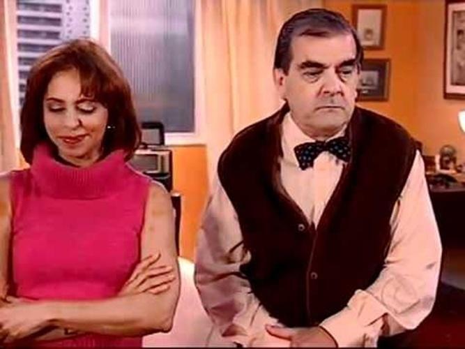 """Também em 1999, o """"Zorra Total"""" levou ao ar o personagem Saraiva, vivido por Francisco Milani"""