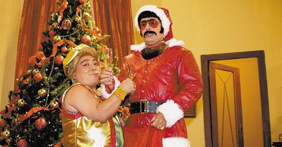 """Tom Cavalcante viveu Pitbicha no """"Zorra Total"""" em 2001"""