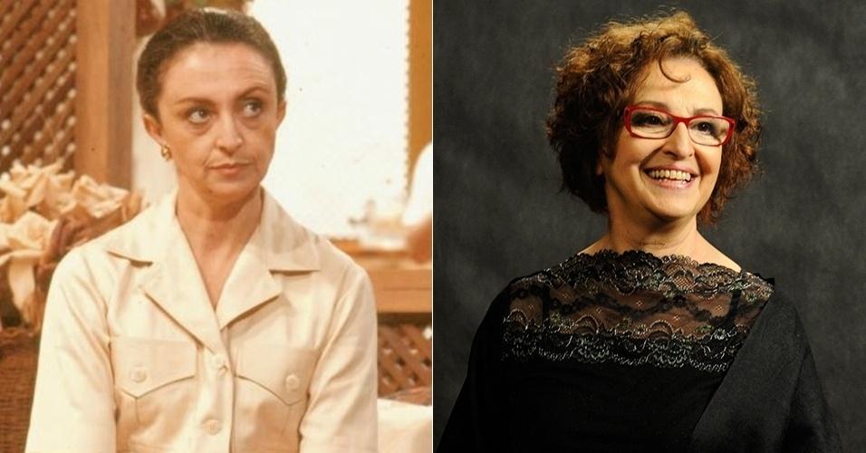 """Ana Lúcia Torre era a dona Juracy, mãe de Edmundo (Jonathan Nogueira) e Silvana (Cláudia Magno) que sofria de artrose. Suas últimas novelas foram """"Insensato Coração"""" (2011), """"Amor Eterno Amor"""" (2012) e Jóia Rara (2013)"""