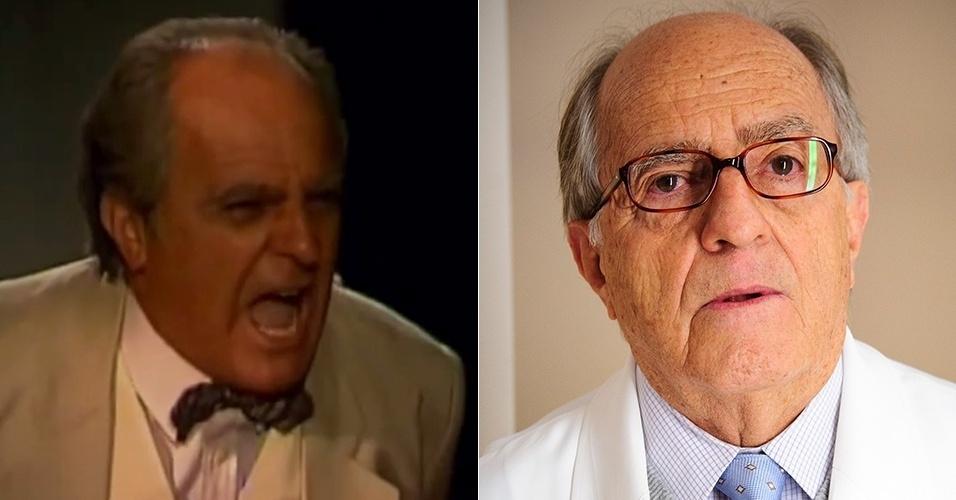 """Ary Fontoura já era um ator renomado quando deu vida ao prefeito Artur da Tapitanga, em """"Tieta"""", por novelas como """"Saramandaia"""" (1986), """"Assim na Terra Como no Céu"""" (1970) e """"Gabriela"""" (1975). Seus últimos papéis de destaque foram em """"A Favorita"""" (2008), """"Caras & Bocas"""" (2009), """"Morde & Assopra"""" (2011) e """"Amor à Vida"""" (2013)"""