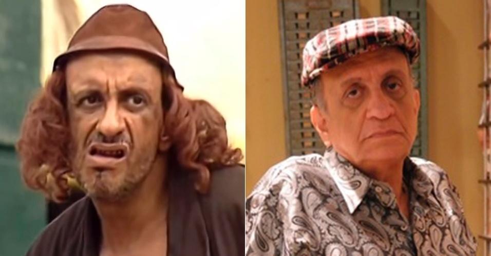 """Bemvindo Siqueira era o desbocado mendigo Bafo de Bode que não tinha receio de dizer a todos o que pensava. Desde 2006 o ator faz novelas na Record, como """"Cidadão Brasileiro"""" (2006), """"Poder Paralelo"""" (2009), """"Pecado Mortal"""" (2013) e mais recentemente """"Milagres de Jesus"""" (2014)"""