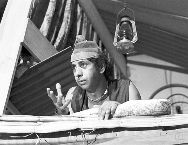 """Flavio Migliaccio em cena de """"O Primeiro Amor"""", de 1972"""