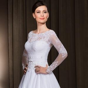 6fa9d0d5f3 Fotos  Veja opções de vestidos de noiva com mangas longas - - UOL ...