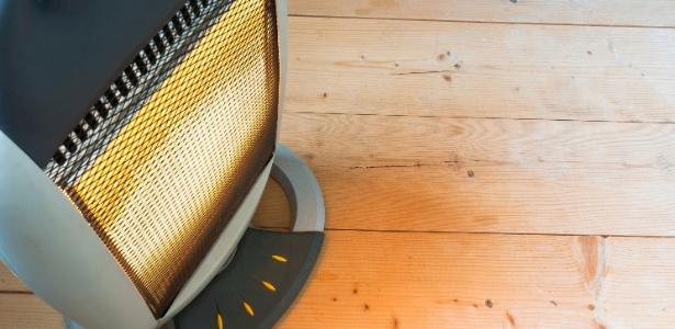 O aquecedor elétrico (irradiador) tende a ser o mais barato, mas ele resseca o ar - Getty Images