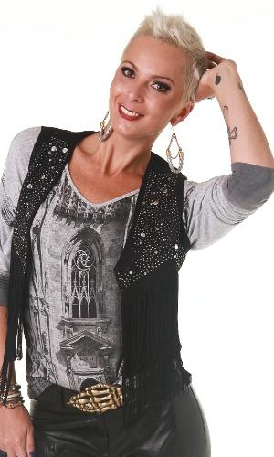 Cantora Bruna Tang, conhecida pela sua participação no extinto