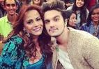"""Luan Santana grava """"Altas Horas"""" com Viviane Araújo e elogia a atriz - Reprodução/Instagram"""