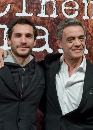 Os atores Jean Pierre Noher e Michel Noher: pai e filho no Festival de Gramado