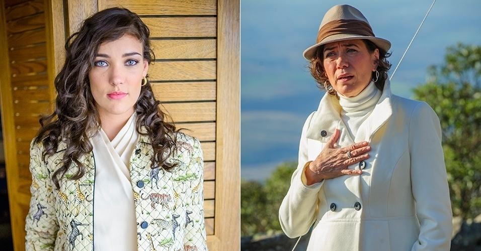Adriana Birolli, como Maria Marta Medeiros, se apaixona por José Alfredo na primeira fase de