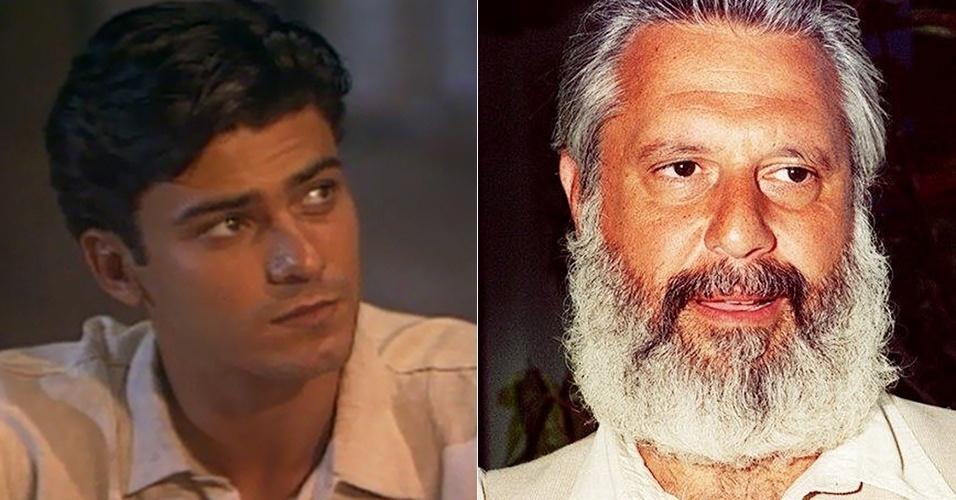 """Leonardo Vieira e Antônio Fagundes fizeram José Inocêncio em """"Renascer"""" (1993)"""