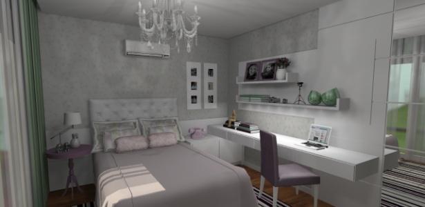 Renato Theodoro comprou o projeto de decoração para o quarto da filha na internet - Click Arq/Divulgação