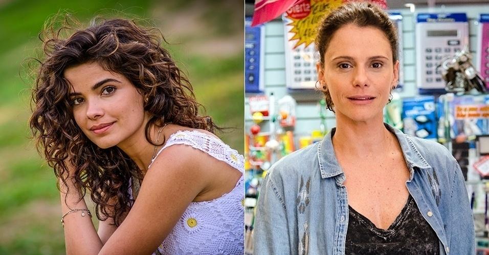 Vanessa Giácomo fez Eliane, irmã de Cora, na primeira fase de