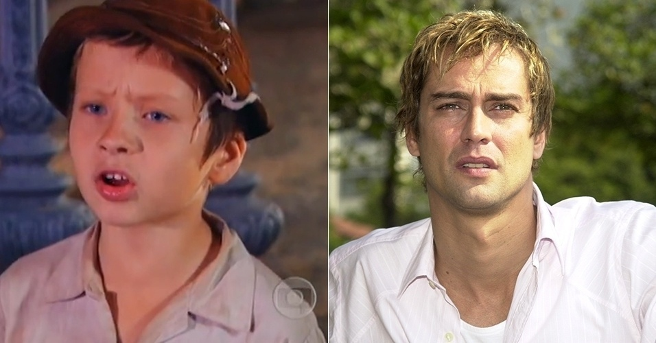 """Viriato, o filho galã de Maria do Carmo em """"Senhor do Destino"""" (2004), foi interpretado por Marcelo Max, na infância, e Marcelo Anthony, na fase adulta"""