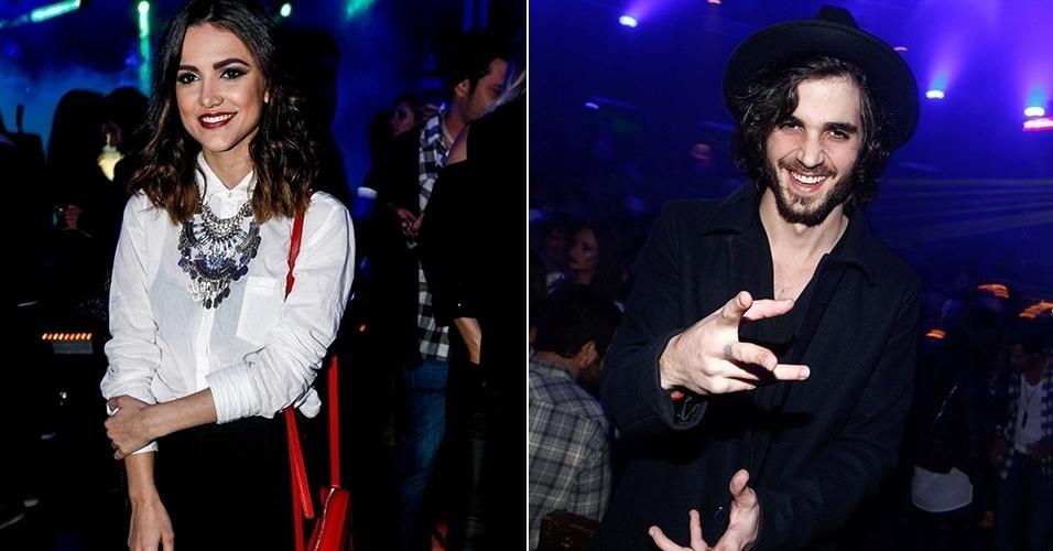 16.ago.2014 - Manu Gavassi e Fiuk marcam presencã na festa MISSA