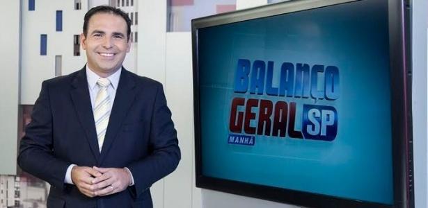 """Reinaldo Gottino substituiu Luiz Bacci no comando do """"Balanço Geral SP"""""""