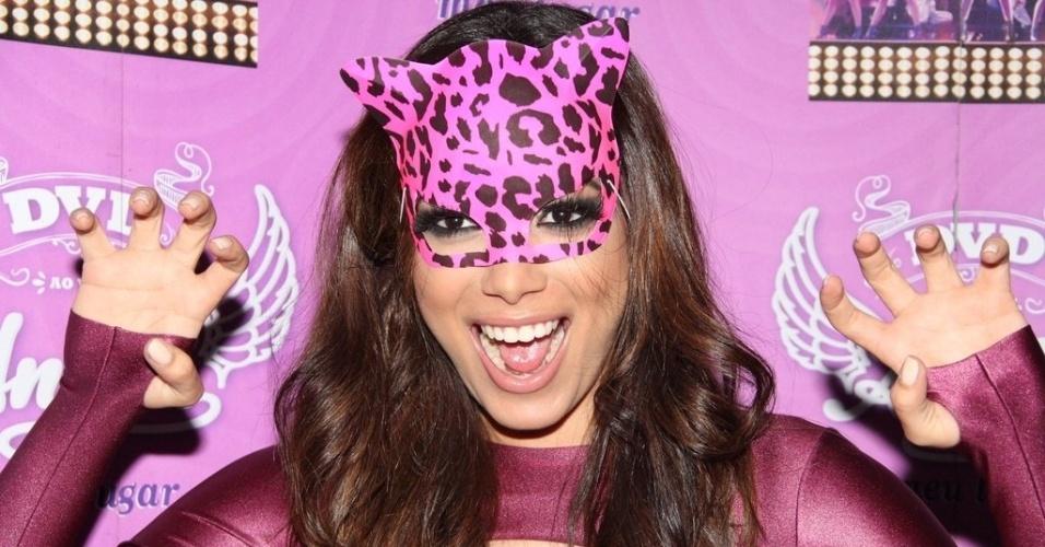 17.ago.2014 ? Anitta se apresenta na edição especial de 5 anos da festa ?Chá da Alice?, no Vivo Rio, no Parque do Flamengo, no Rio de Janeiro