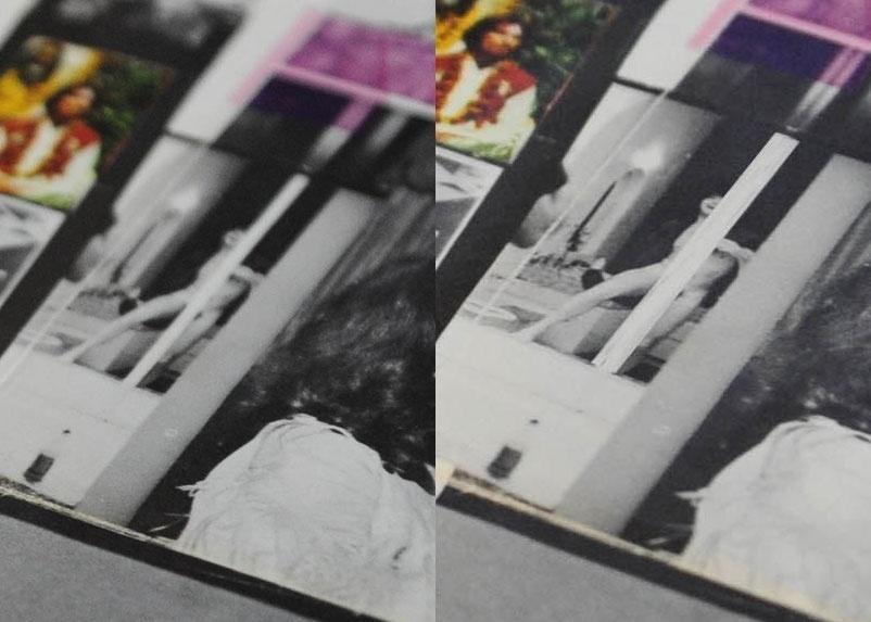 15.ago.2014 - O pôster da edição norte-americana mostra Paul McCartney nu, tampado por uma faixa branca que mostra apenas os pelos pubianos