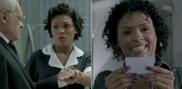 """Unhas de Kelly (Lidi Lisboa) foram de rosa a roxo no mesmo dia em """"Império"""""""