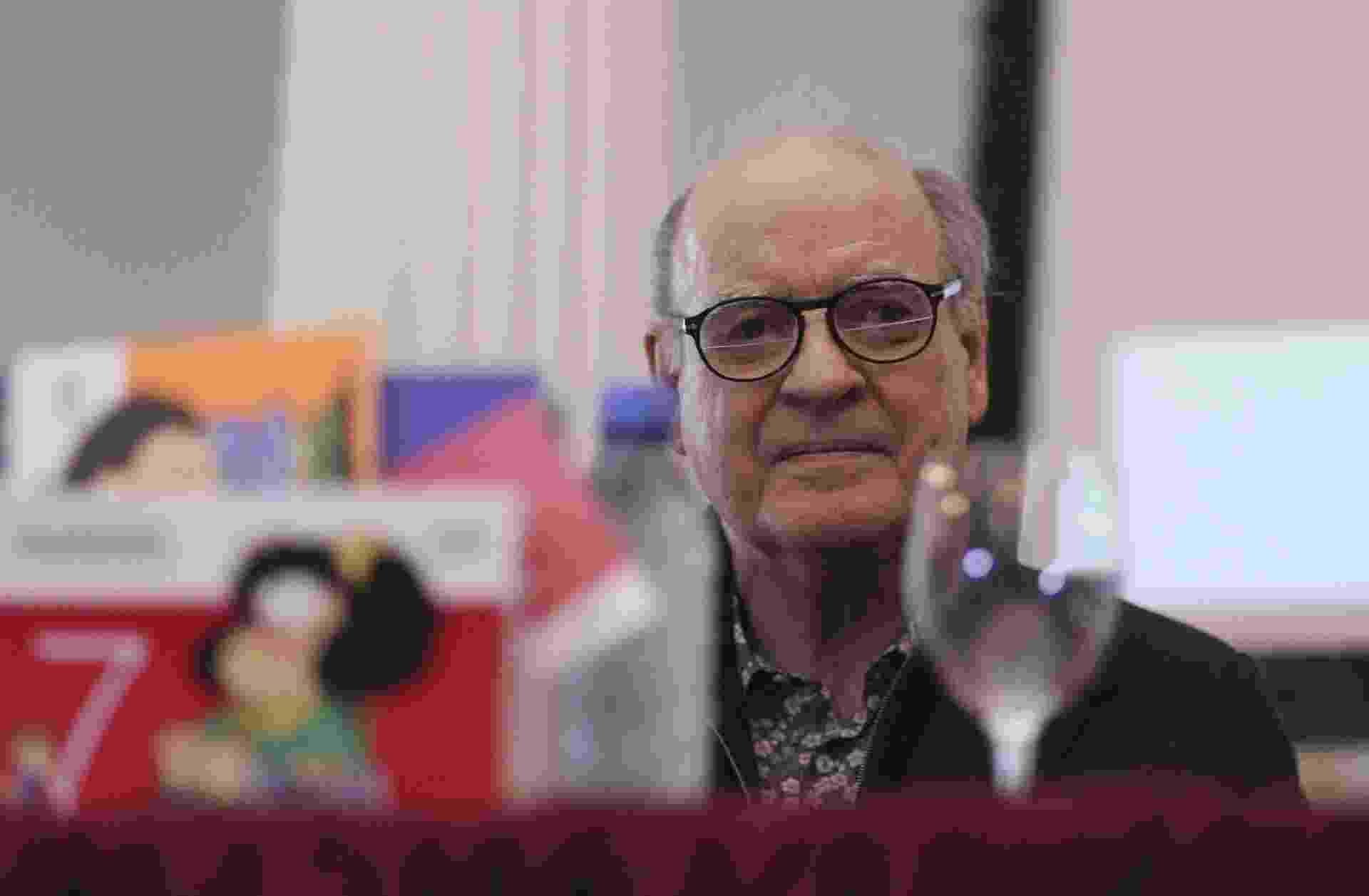 19.ago.2014 -  O cartunista argentino Joaquín Salvador Lavado, o Quino, criador da personagem Mafalda - EFE