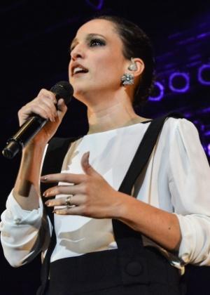 A cantora portuguesa Carminho participa da homenagem ao seu país na Virada - Caio Duran/AgNews
