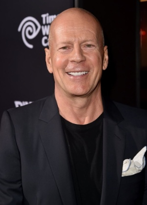 """19.ago.2014 - Bruce Willis no lançamento de """"Sin City: A Dama Fatal"""", em Los Angeles - AFP"""