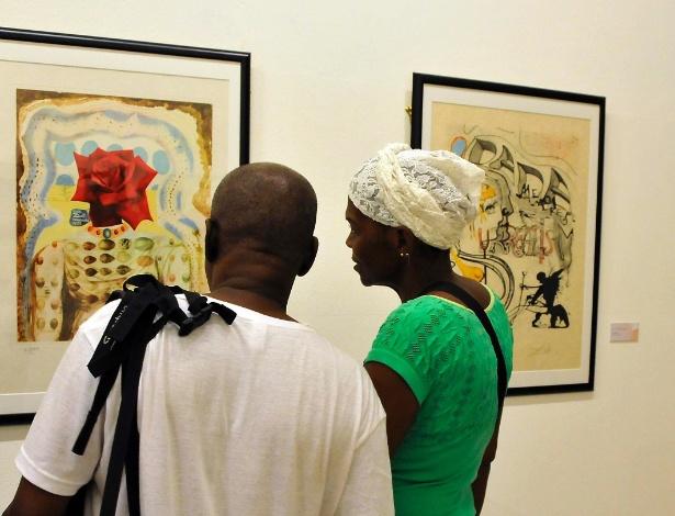 25.jul.2014 - Gravuras de Salvador Dali são expostas pela primeira vez em Havana, Cuba - Joaquin Hernandez/Divulgação