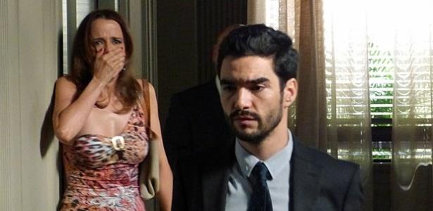 Lorraine fica aflita ao ver José Pedro, o responsável pelo atropelamento que matou o seu irmão