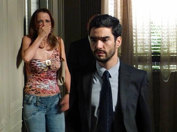 Lorraine fica cara a cara com João Pedro, o responsável por matar seu irmão em um atropelamento