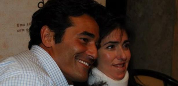 """Luciano Szafir e a irmã Alexandra Szafir no lançamento do livro """"Descasos"""", escrito pela advogada - Reprodução/Facebook/Alexandra Szafir"""