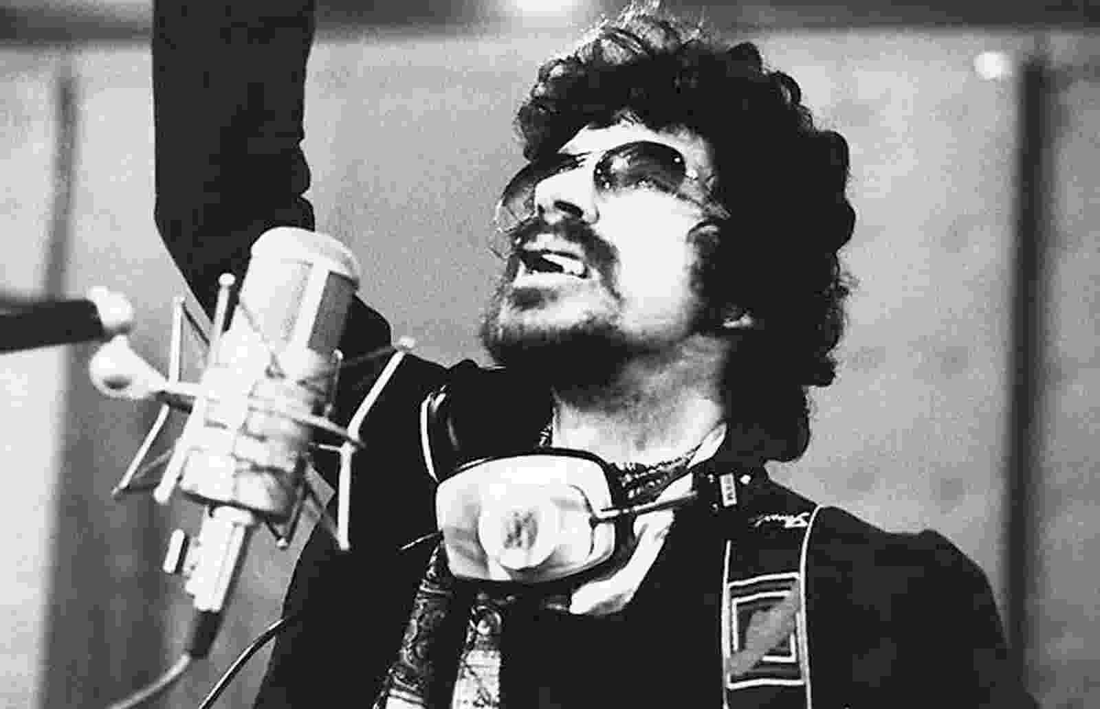 O cantor Raul Seixas - Reprodução