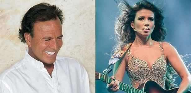 21.ago.2014 - O cantor Julio Iglesias faz shows no Rio e em São Paulo em setembro; Paula Fernandes fará participação em apresentação no Rio