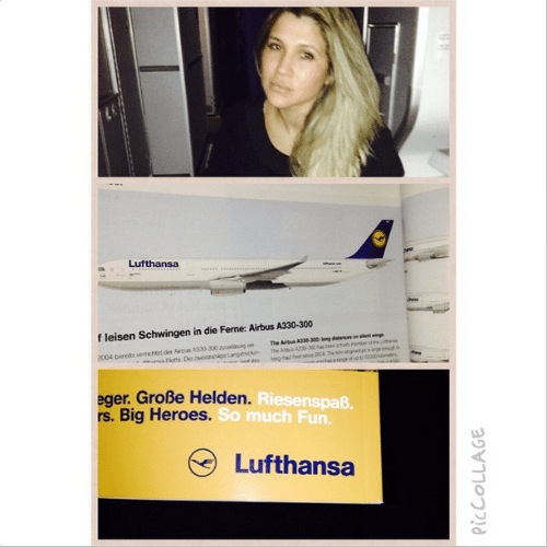 22.ago.2014 - Dani Souza, mulher do jogador Dentinho, faz um protesto em seu Instagram contra uma empresa aérea por ter recebido um mau atendimento