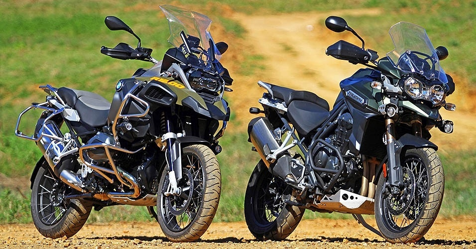 BMW R 1200 GS Adventure vs. Triumph Explorer XC