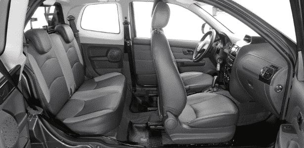 Fiat Strada Adventure Dualogic Cabine Dupla 2015 - Murilo Góes/UOL - Murilo Góes/UOL