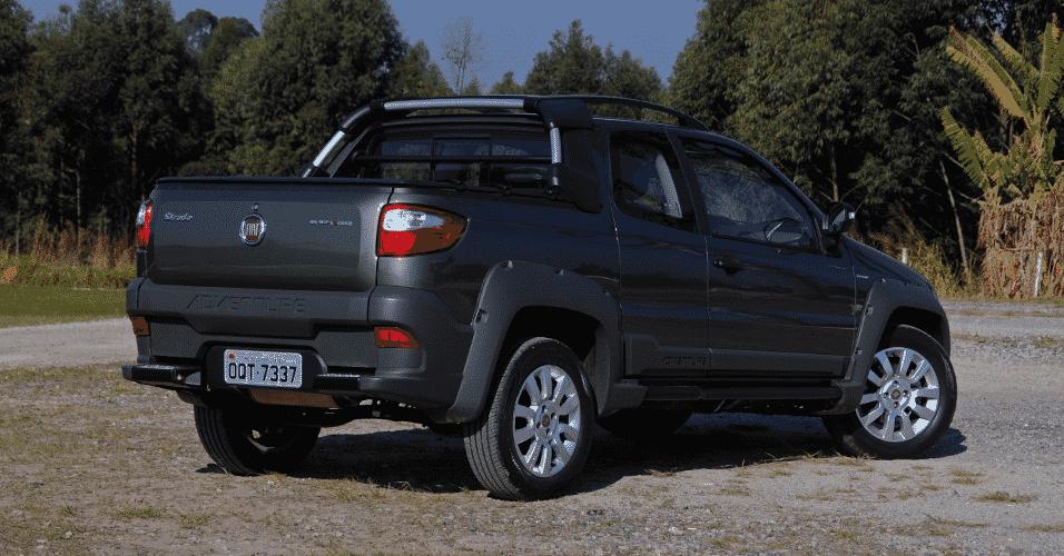 Fiat Strada Adventure Dualogic Cabine Dupla 2015 - Murilo Góes/UOL