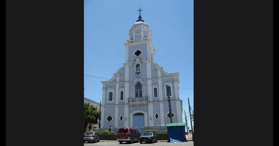Igreja matriz, no centro de São José dos Campos