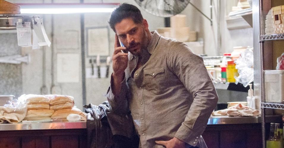 "Joe Manganiello é Alcide Herveaux em ""True Blood"""