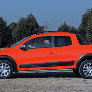 Volkswagen Saveiro Cross Cabine Dupla 2015 - Murilo Góes/UOL