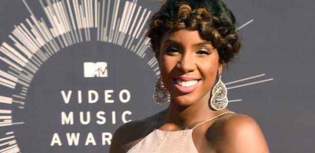 A cantora Kelly Rowland deu à luz