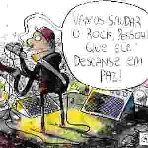 24.set.2011 - Na semana em que o Brasil sediava o Rock in Rio, João Montanaro brinca com a escassez de nomes verdadeiramente roqueiros e novos na escalação do festival - João Montanaro/Folhapress