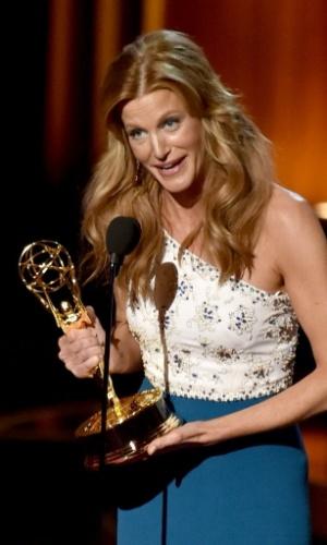 """25.ago.2014 - Anna Gunn vence na categoria de Melhor Atriz Coadjuvante por Série Dramática por """"Breaking Bad"""""""