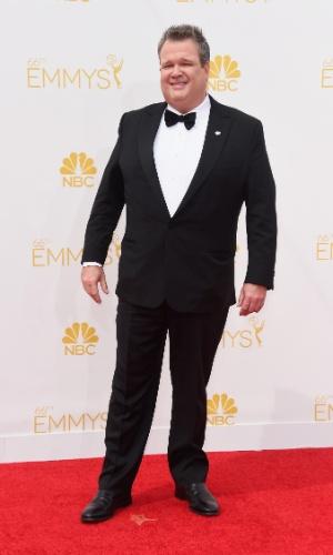 """25.ago.2014 -  Eric Stonestreet, de """"Modern Family"""", prestigia a 66ª edição do Emmy Awards. O evento acontece no Nokia Theatre, em Los Angeles"""
