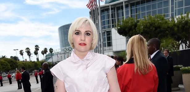 """Lena Dunham, de """"Girls"""", saiu em defesa das colegas que tiveram fotos íntimas vazadas"""