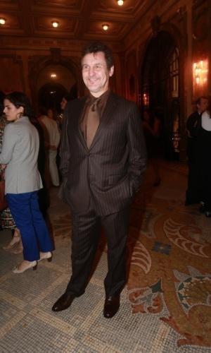 25.ago.2014 - Antônio Calloni marca presença no Grande Prêmio do Cinema Brasileiro, no Theatro Municipal, no Centro