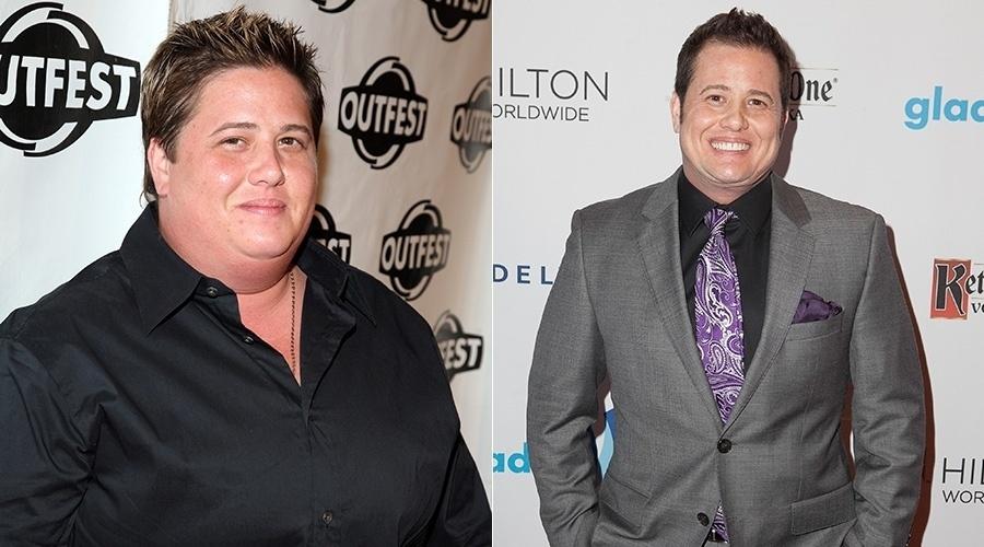 Chaz Bono perdeu 30 quilos
