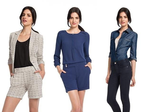 A coleção traz peças de alfaiataria, camisas, shorts e até calças jeans - Divulgação