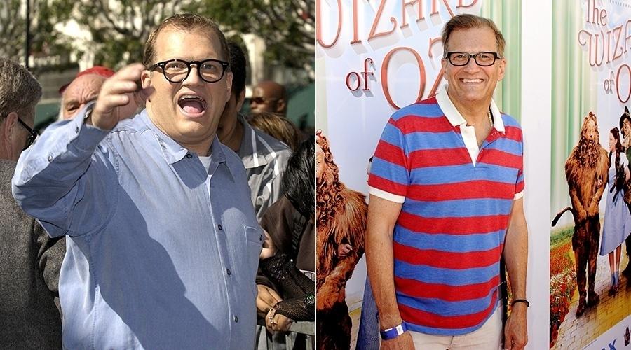 O comediante Drew Carey perdeu mais de 30 quilos
