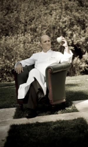 O super premiado chef Heinz Beck, considerado um dos grandes nomes da gastronomia mundial