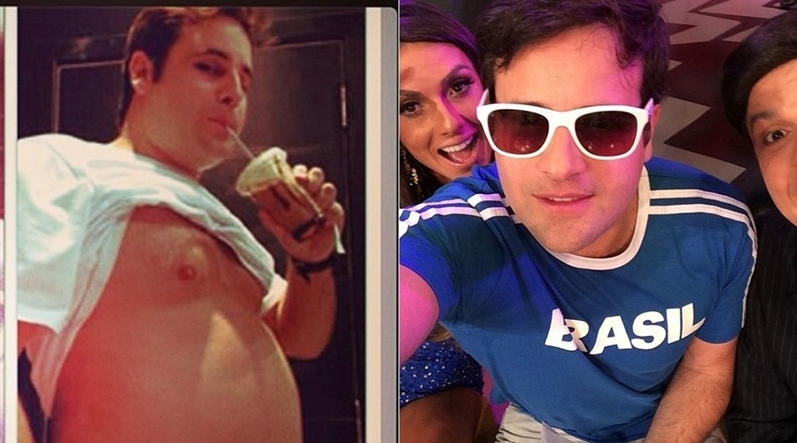 Rodrigo Vesgo perdeu 20 quilos