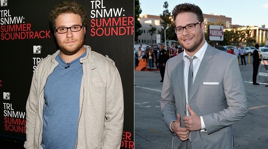 Seth Rogen perdeu mais de 10 quilos